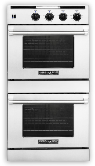 E American Range Legacy Hybrid Series 30u201d Dual Fuel Double Oven Built  InAROFFHGE
