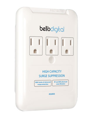 Bell O 3 Outlet Liance Surge Protector As2003