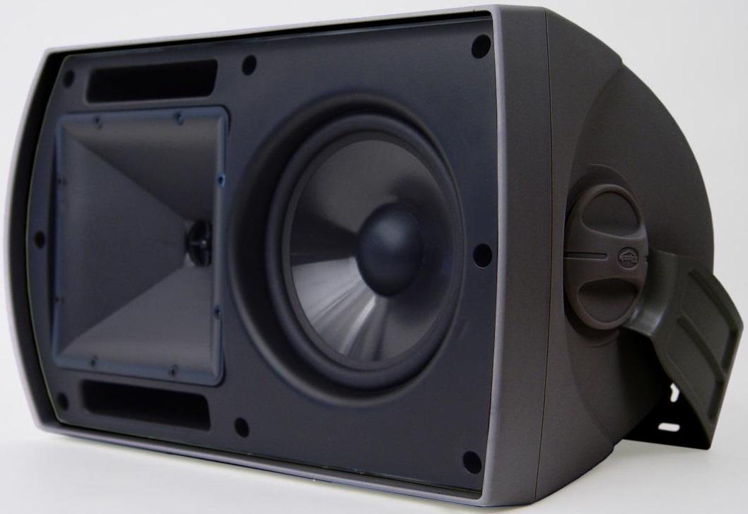 Klipsch 6 5 Outdoor Speakers Black Aw 650