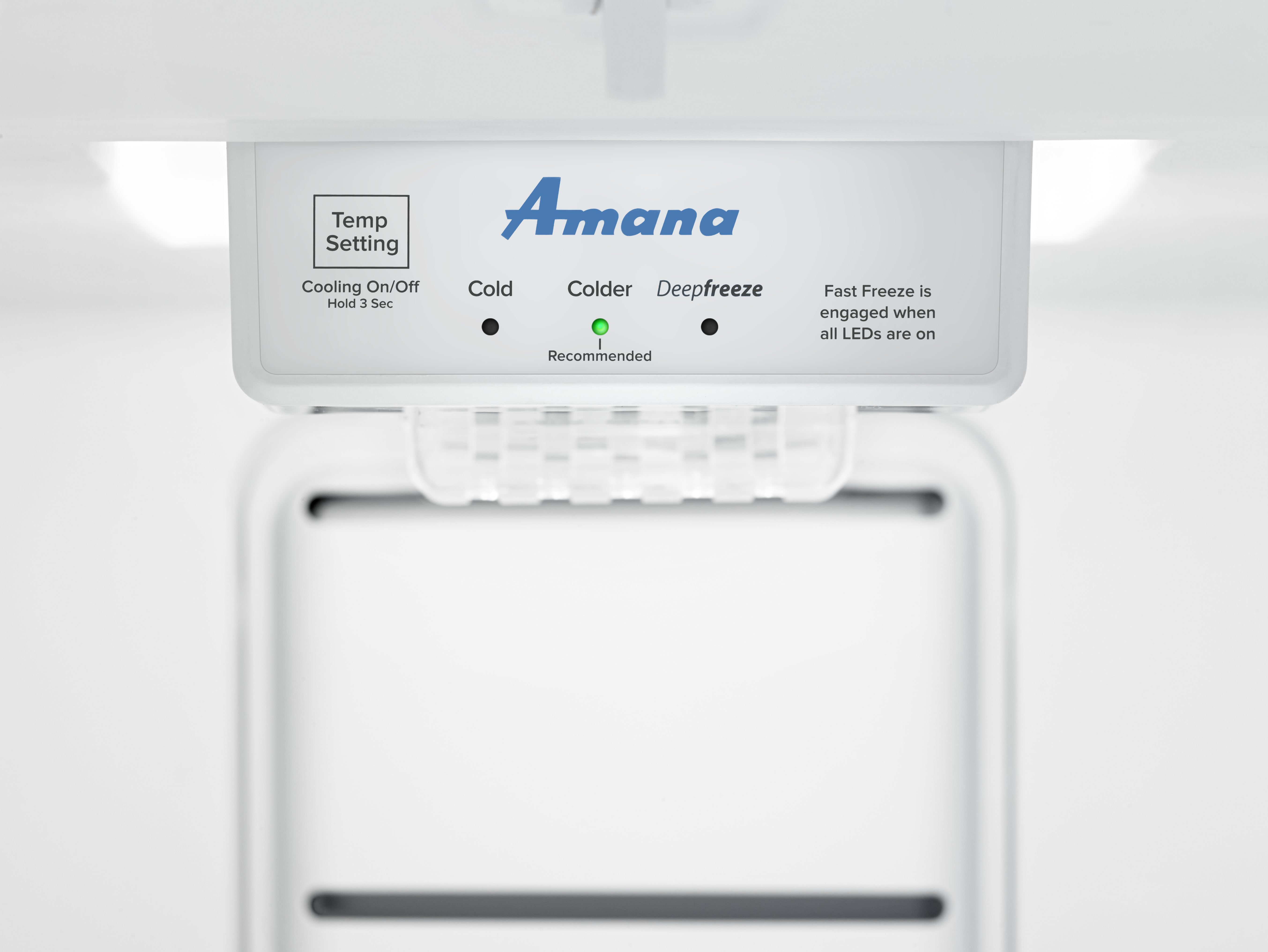 Amana® 16 0 Cu  Ft  Upright Freezer-White-AZF33X16DW