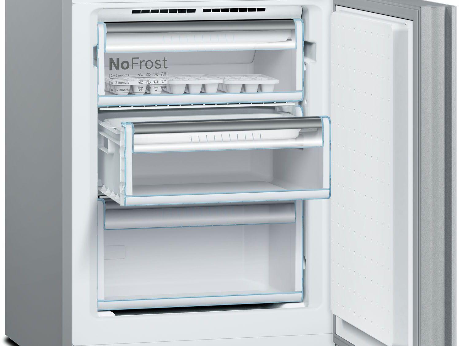 Bosch 800 Series 10.0 Cu. Ft. Counter Depth Bottom Freezer ...