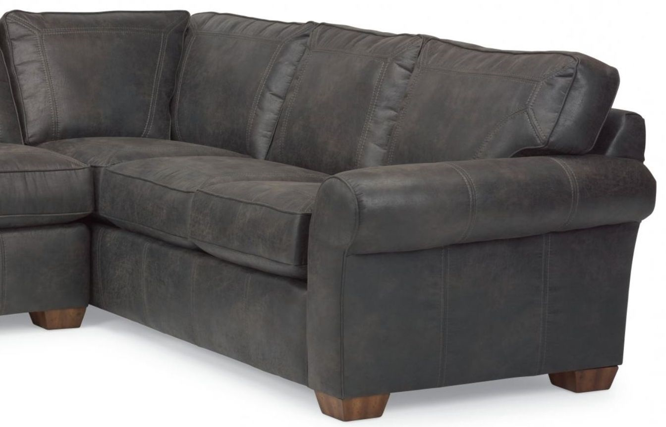 Remarkable Flexsteel Vail Nuvo Leather Right Arm Facing Corner Sofa Unemploymentrelief Wooden Chair Designs For Living Room Unemploymentrelieforg