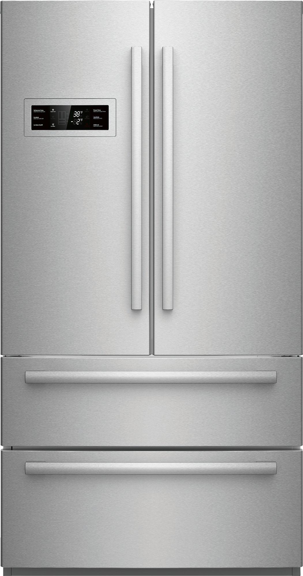 Bosh 800 Series 207 Cu Ft Counter Dept French Door Refrigerator