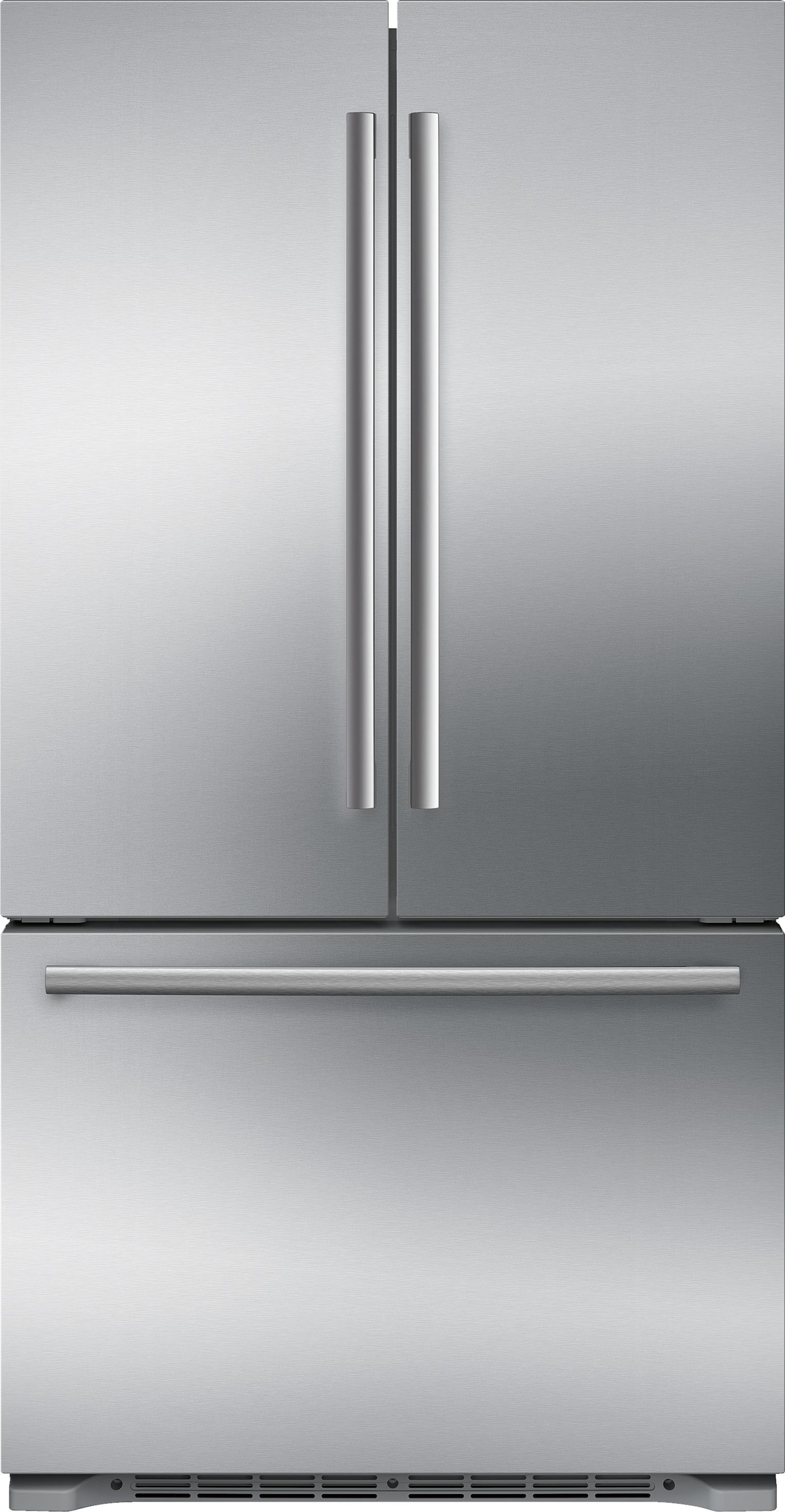 Ft. Counter Depth 3 Door Refrigerator Stainless Steel