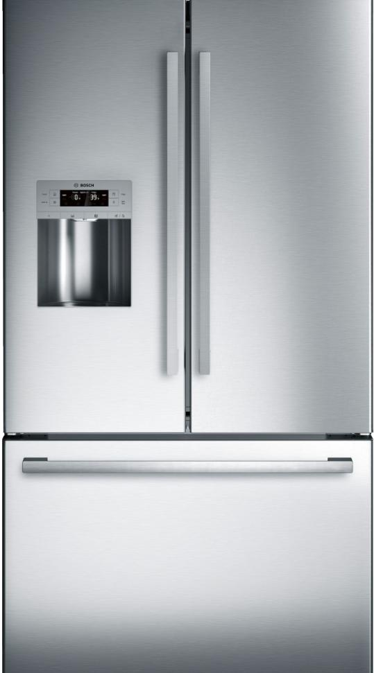 Ft. Standard Depth French Door Refrigerator Stainless Steel ...