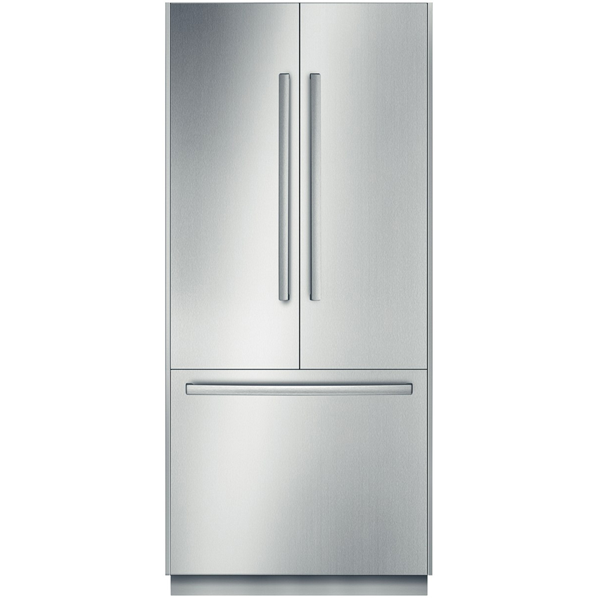 Ft. French Door Refrigerator Stainless Steel  ...