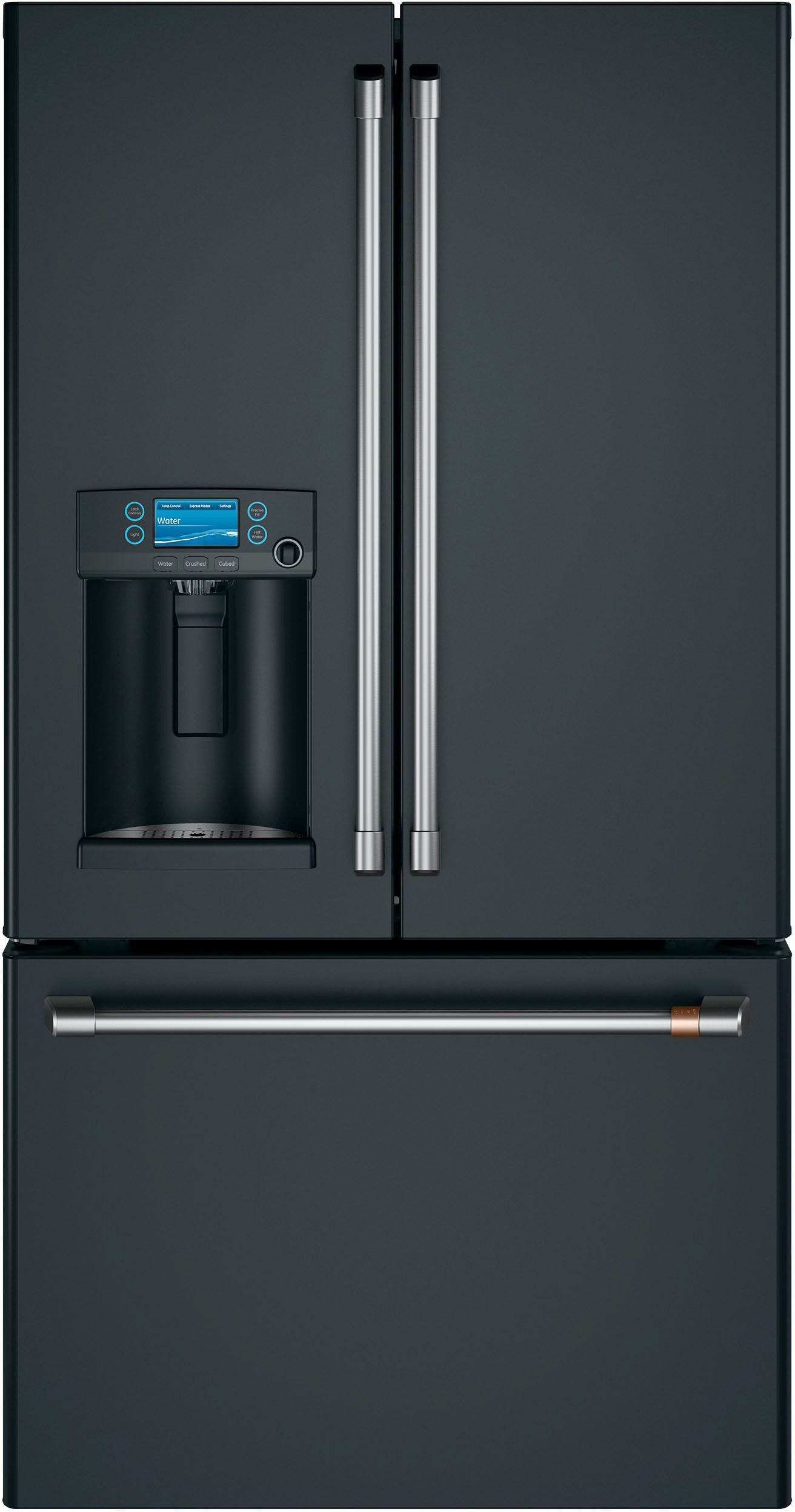 Ft. Counter Depth French Door Refrigerator Matte ...