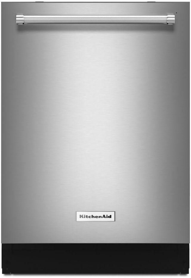 Kitchenaid 23 88 Stainless Steel Built In Dishwasher Kdtm404ess