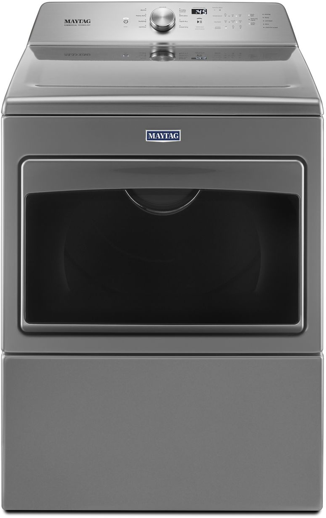 Maytag 174 7 4 Cu Ft Metallic Slate Front Load Electric