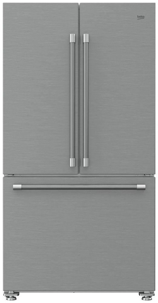 Ft French Door Refrigerator Fingerprint Free Stainless Steel Bffd3620ss