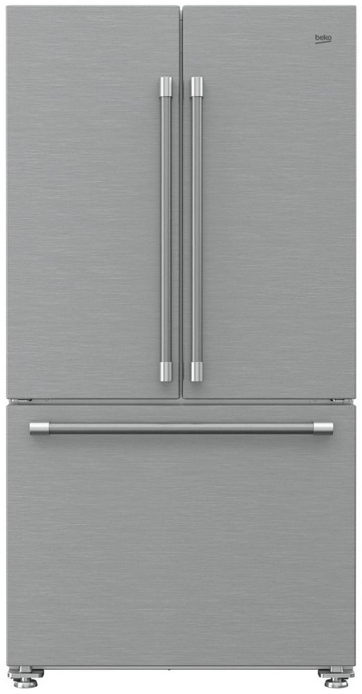 Ft French Door Refrigerator Fingerprint Free Stainless Steel Bffd3622ss