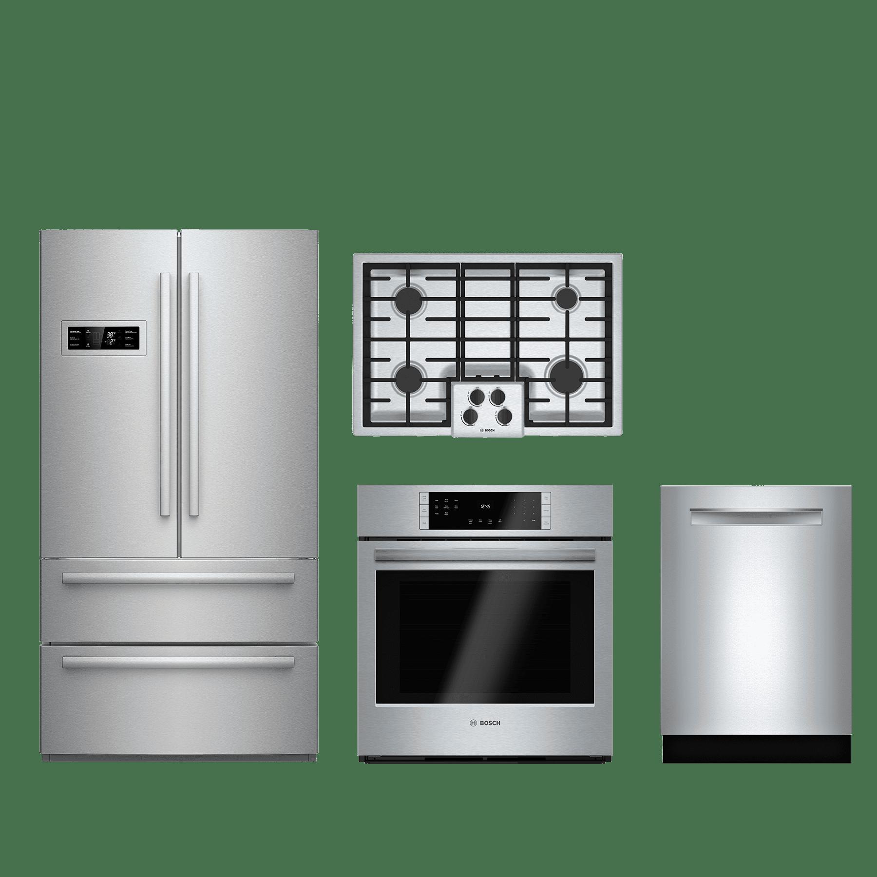 Bosch 4 Piece Kitchen Package-Stainless Steel