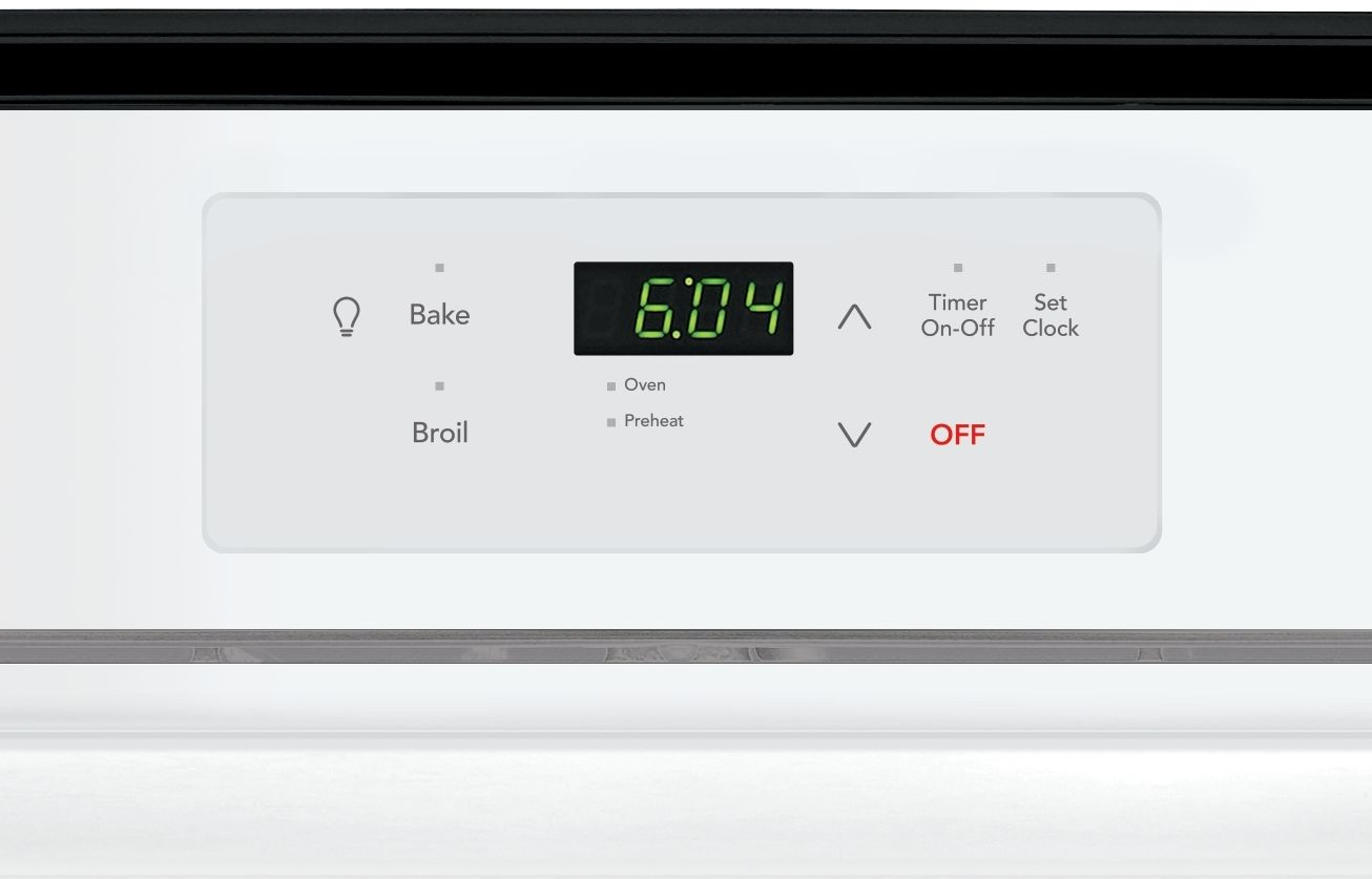 Frigidaire 2388 Single Gas Wall Oven White Ffgw2416uw Shop Baking Wiring Diagram Features Even Technology