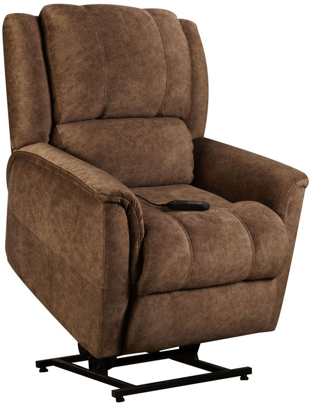 Homestretch Brown Power Lift Chair 172 55 17 Rolesville