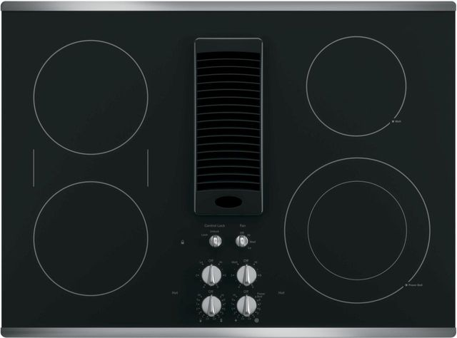 Ge Profile Series 29 81 Stainless Steel Electric Cooktop