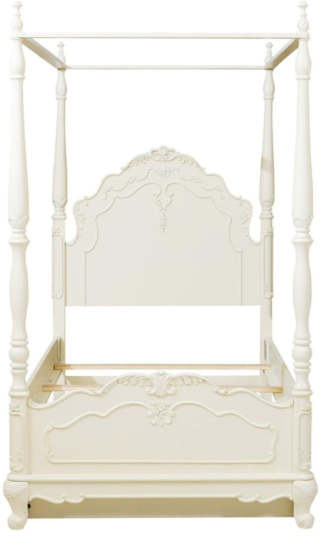 Homelegance® Cinderella Youth Twin Canopy Poster Bed ...