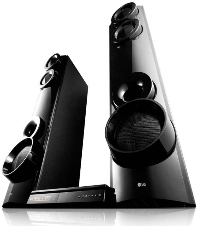 LG 4.2 Channel Blu Ray Disc™ Home Theater System LHB675N