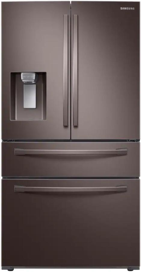 Samsung 22 6 Cu Ft Tuscan Stainless Steel 4 Door Counter
