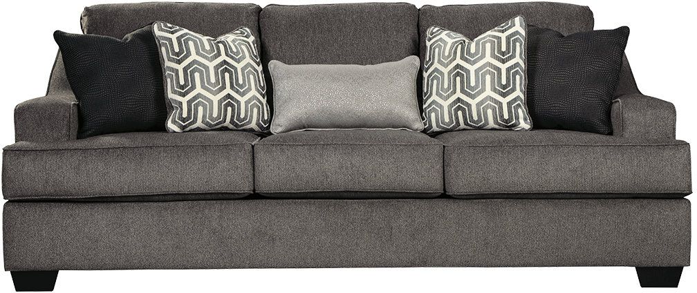 Reviews for Ashley® Gilmer Gunmetal Sofa-6560338