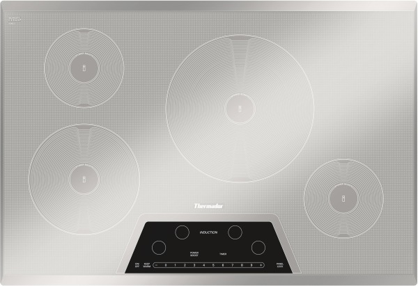 Thermador Masterpiece Series 30 Induction Cooktop Silver Cit304km