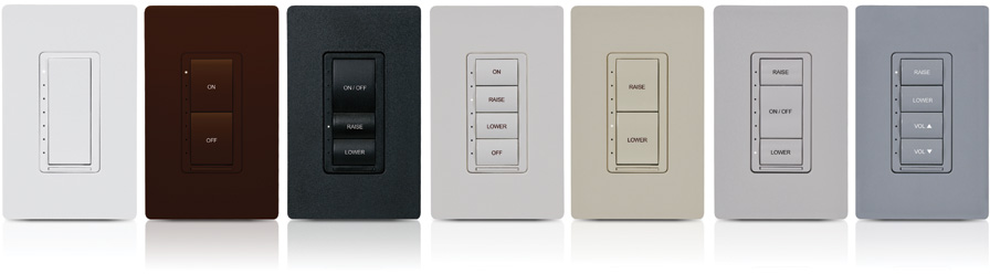 crestron cameo® wireless in-wall dimmer-brown smooth-clw-dimex-230-p-brn-s  | systems design co