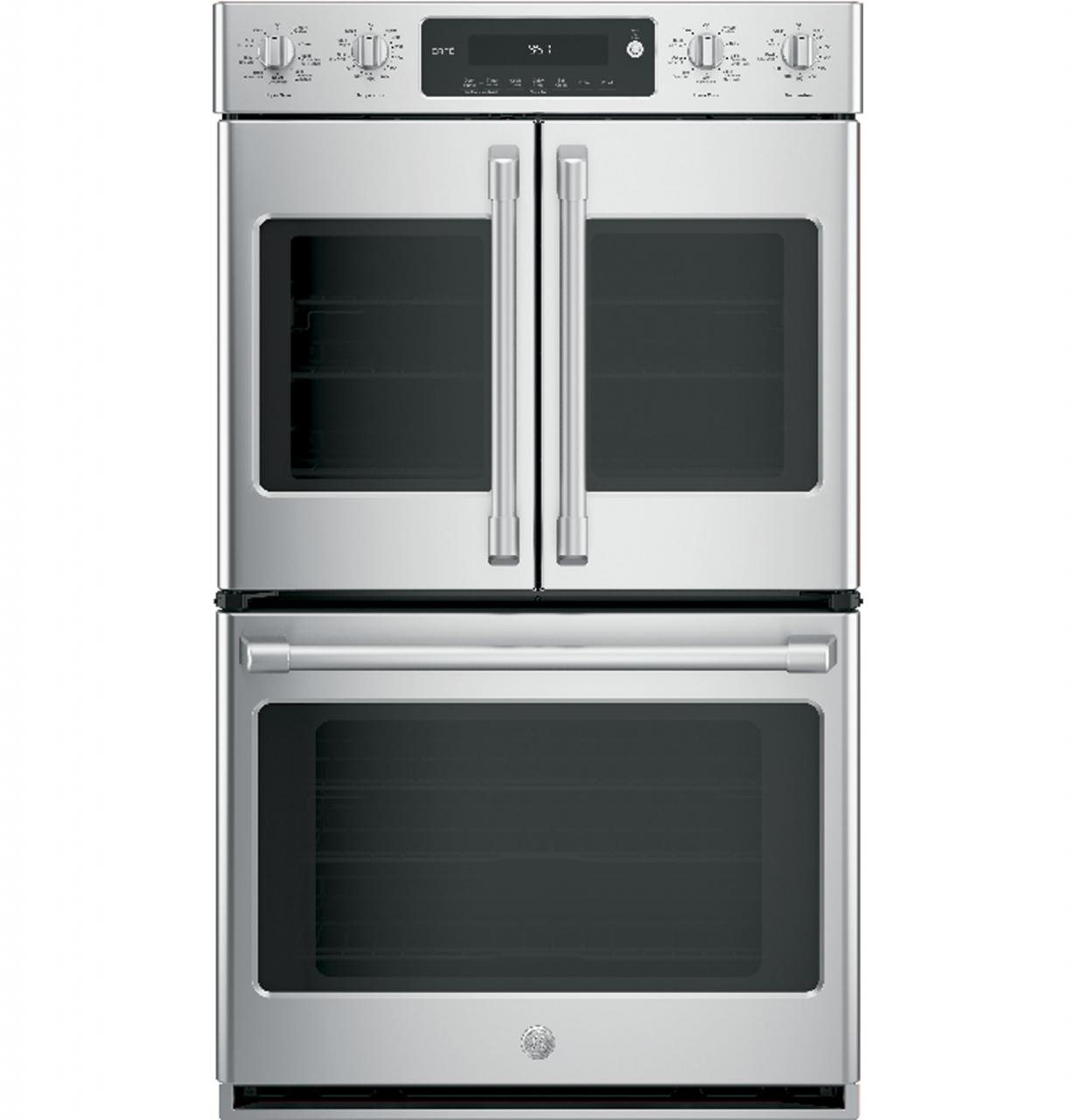 Ge Cafe Series 30 Built In Double Convection Wall Oven Stainless Steel