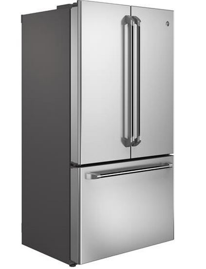 GE Cafe™ Series 23.1 Cu. Ft. Counter Depth French Door Refrigerator Stainless  Steel CWE23SSHSS