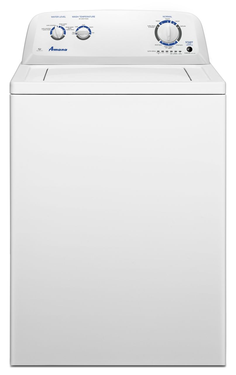 Amana® Top Load Washer-White-NTW4516FW