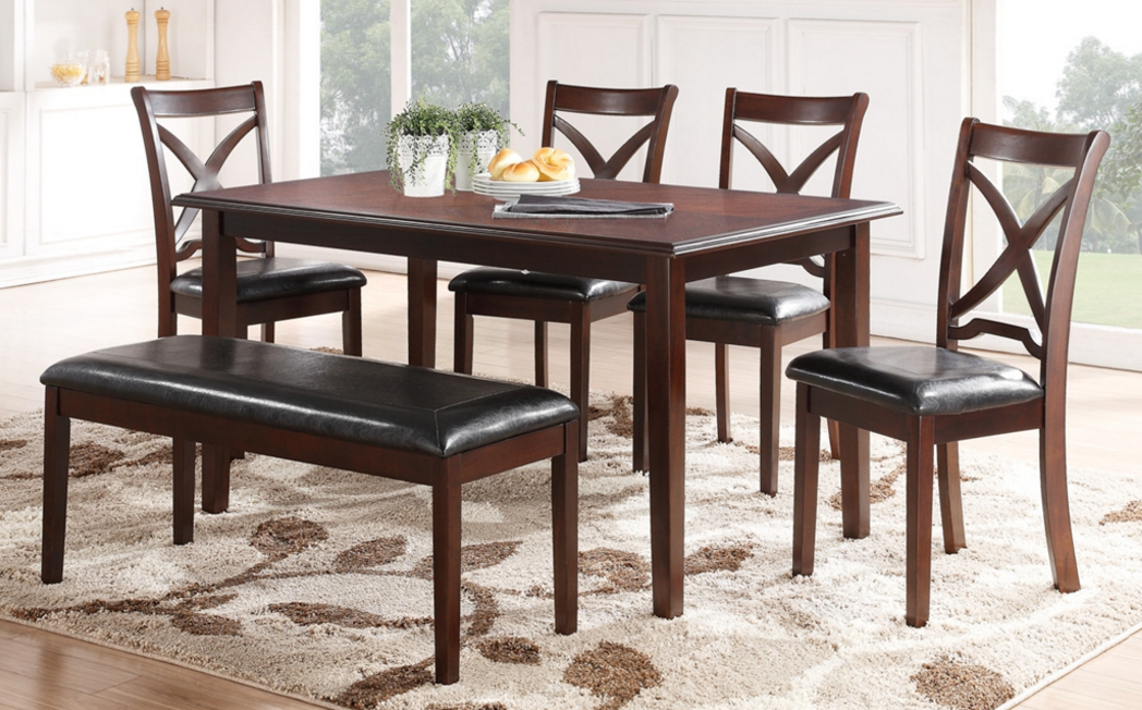 New Classic® Milo 6 Piece Dining Set D1435 60S