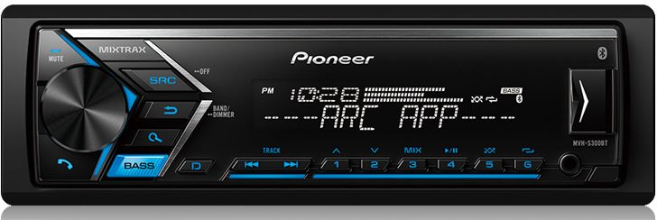 Pioneer Digital Media Receiver-MVH-S300BT Home Automation & Theater