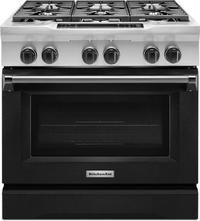Kitchenaid 36 Imperial Black