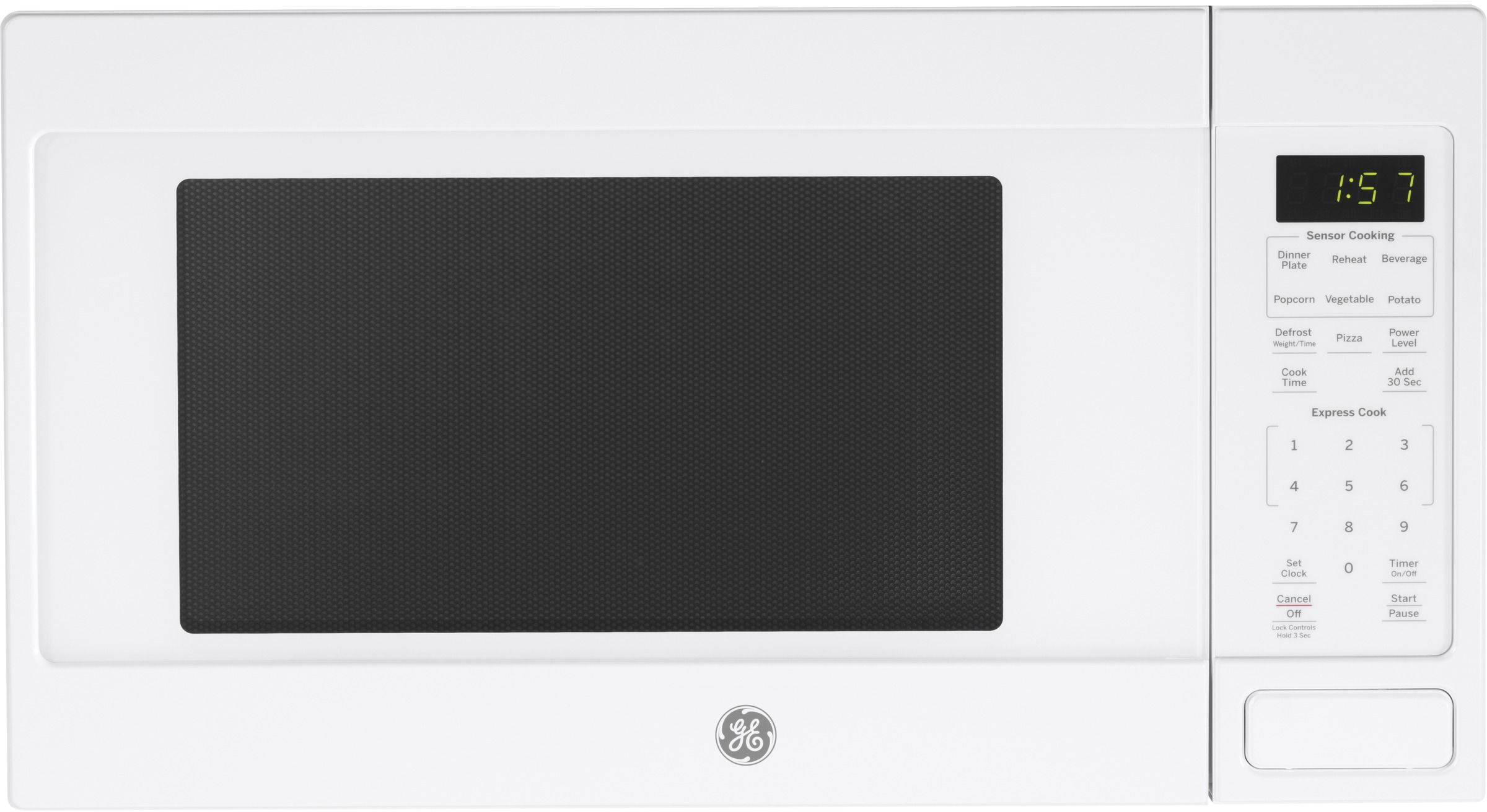 GE® Countertop Microwave-White-JES1657DMWW Home Appliances, Kitchen ...
