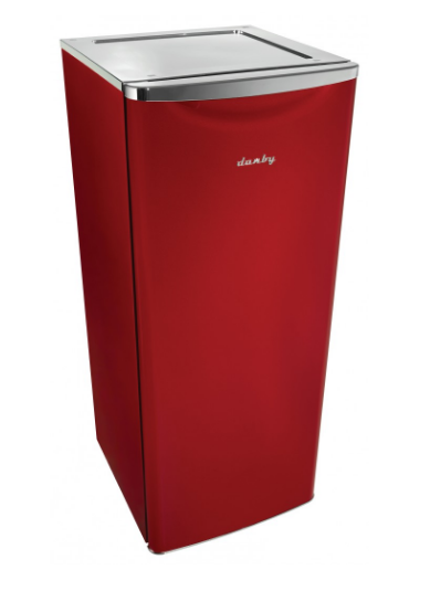 11 Cu. Ft. Apartment Size Refrigerator-Scarlett Red Metallic-DAR110A2LDB