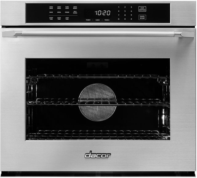 Dacor 174 Heritage 30 Quot Stainless Steel Electric Single Oven Built In Hwo130fs Livingood S