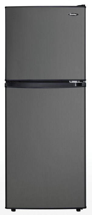 Danby® 4 7 Cu  Ft  Compact Refrigerator-Black Stainless