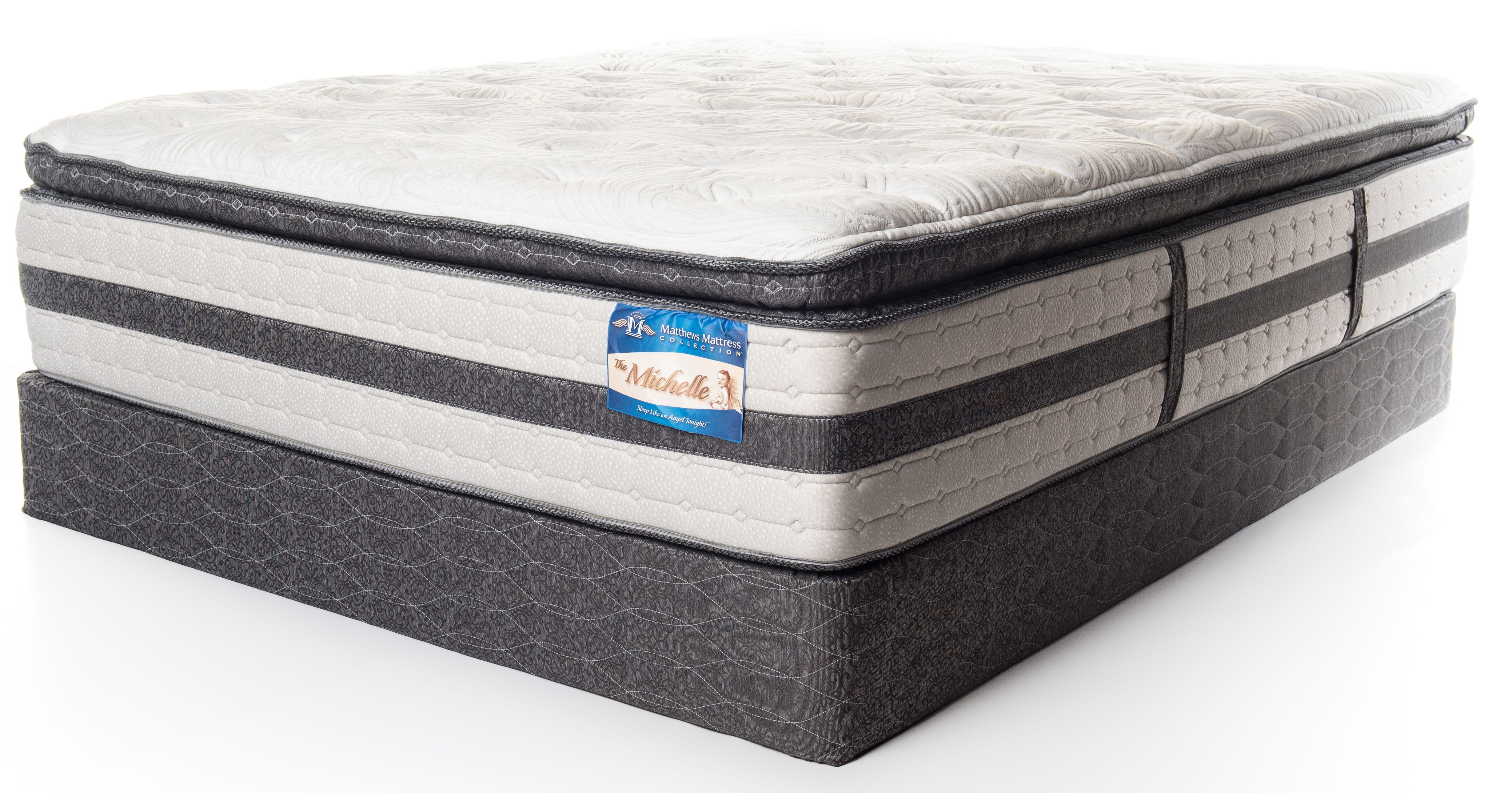 pillow top mattress twin. Matthews Mattress Premium Collection Michelle Pillow Top Mattress-Twin XL-Michelle-PT-TXL-Michelle-PT-TXL Twin L