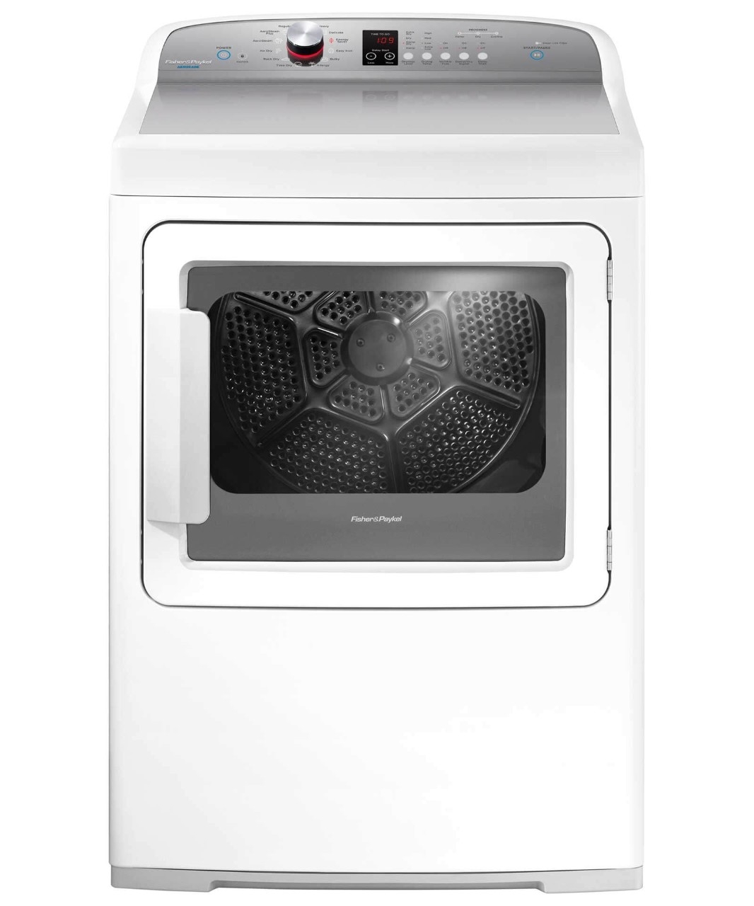 Fisher Paykel Aerocare Front Load Gas Dryer White Dg7027p2