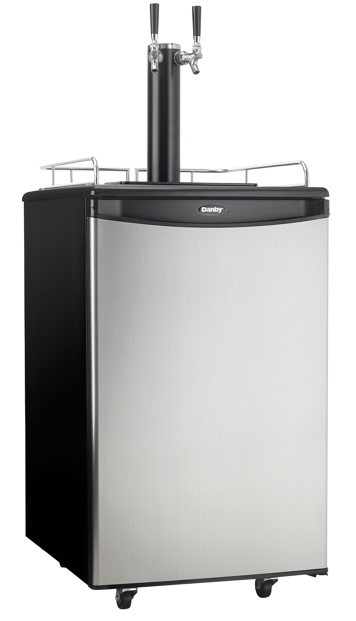 Danby® 5.4 Cu. Ft. Keg Cooler-Black with Stainless-DKC054A1BSL2DB ...