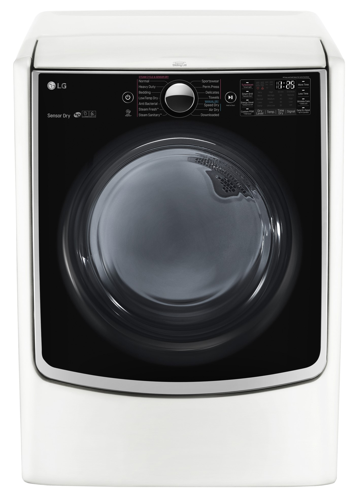 Lg Dryer Repair >> Lg Front Load Electric Dryer White Dlex5000w Home Appliances