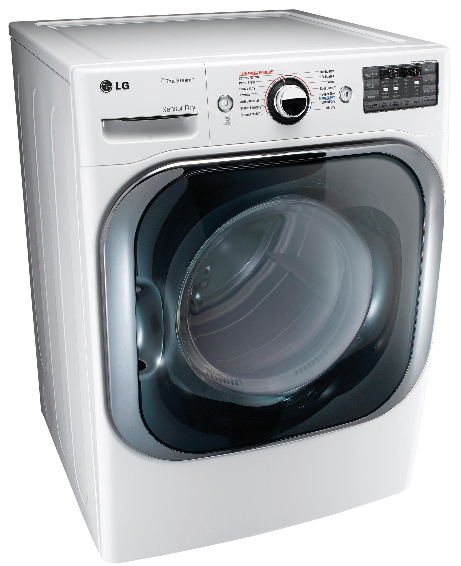 Lg Front Load Electric Dryer White Dlex8100w