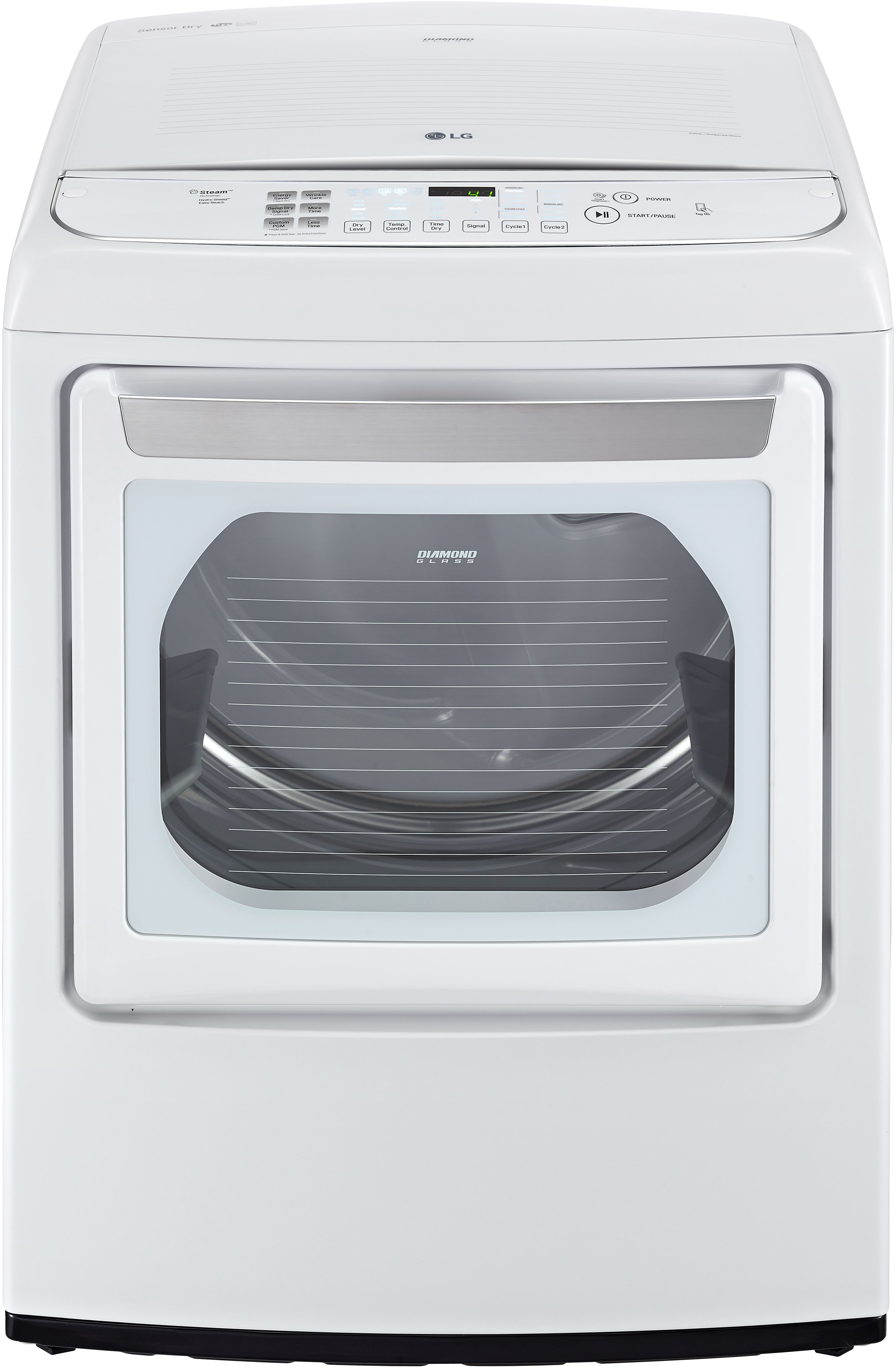 LG Front Load Gas Dryer White DLGY1702W