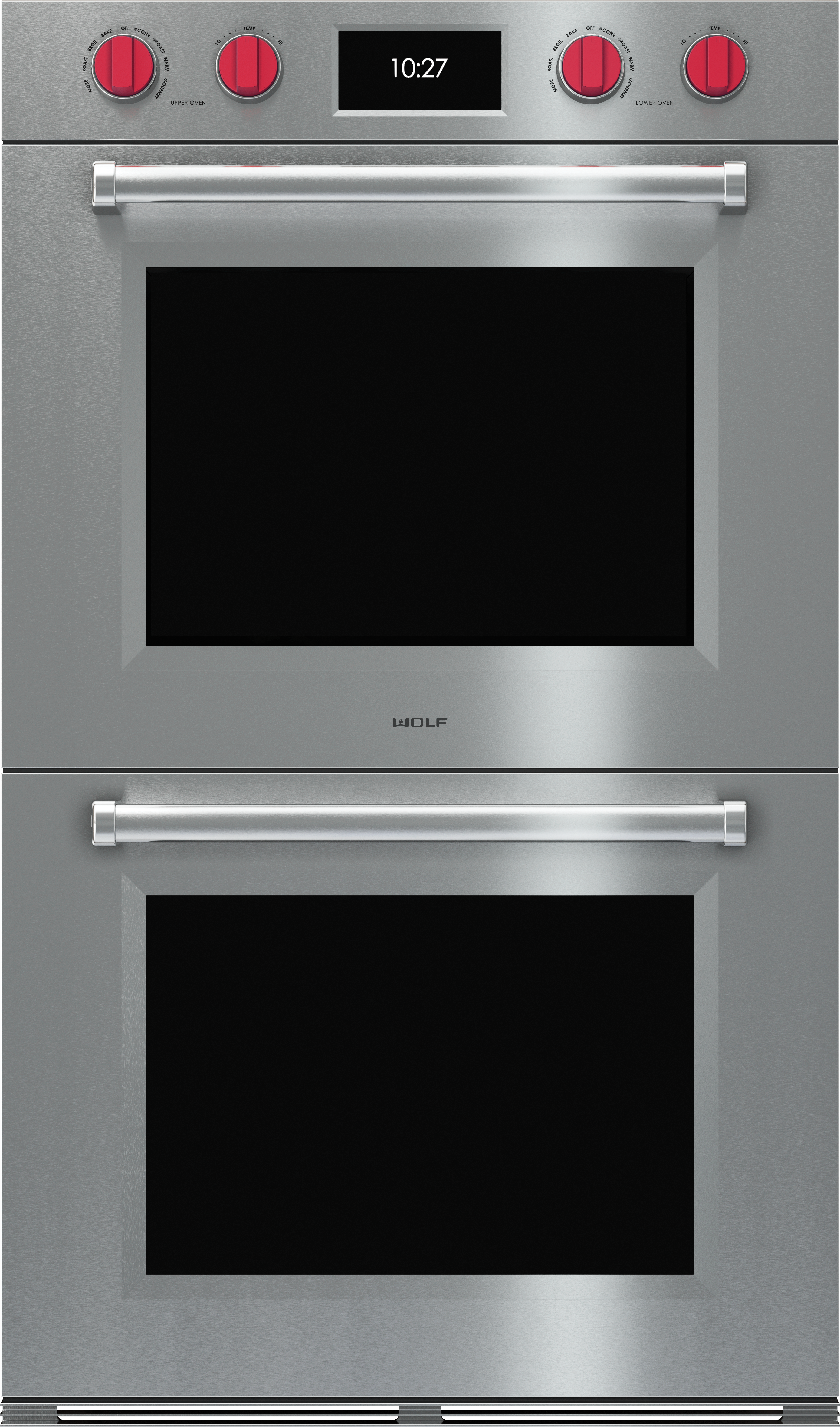 Wolf M Series Professional 30 Electric Double Oven Built In Stainless Steel