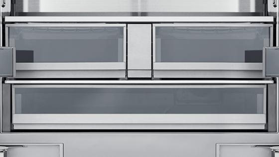 Dacor® Modernist 21.3 Cu. Ft. Built-In French Door Bottom Freezer- & Dacor Doors Ltd u0026 Dacor Distinctive DTF364SIWS Refrigerator Sc 1 St ...