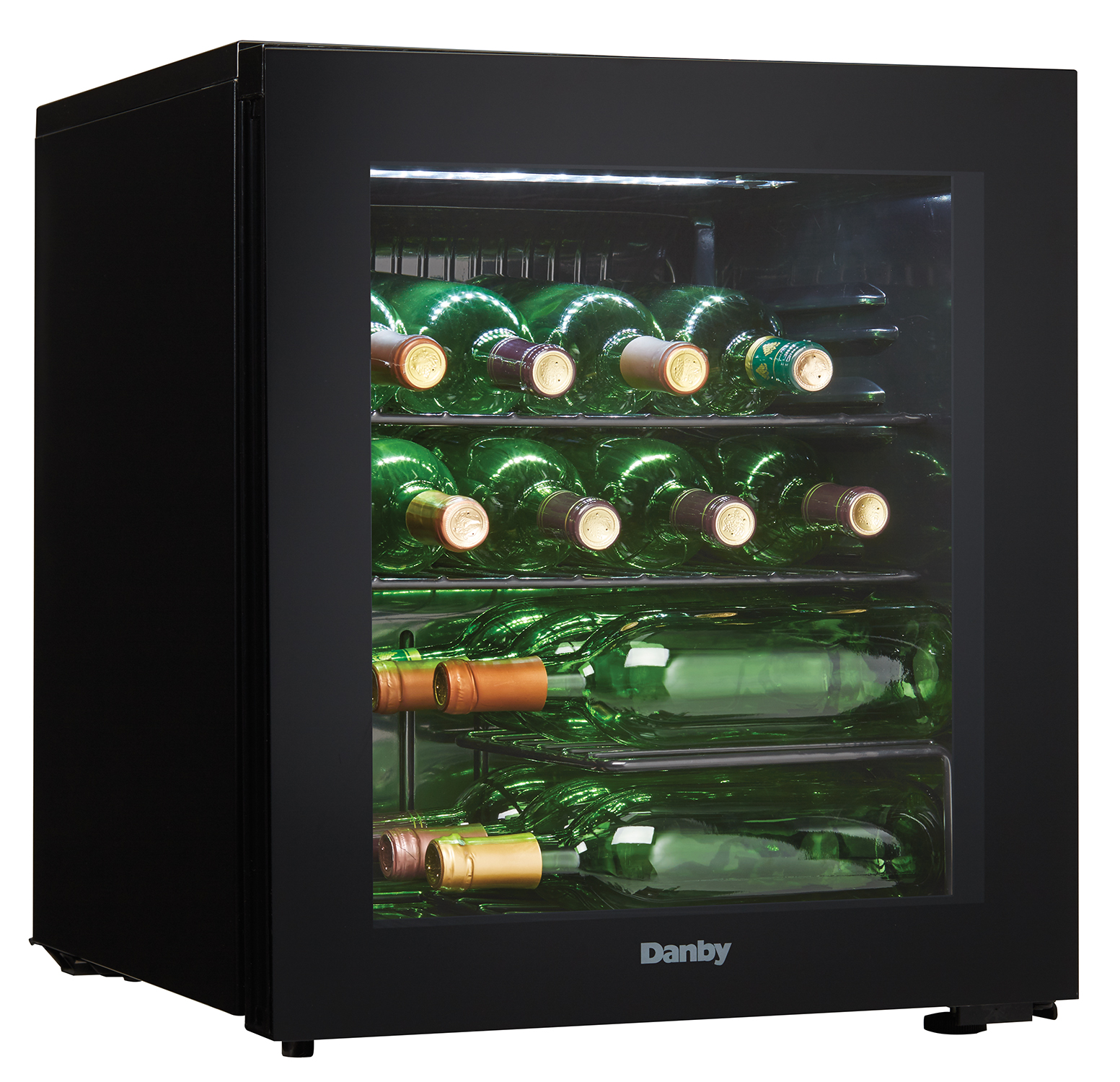 Lovely Ft. Wine Cooler Black DWC018A1BDB
