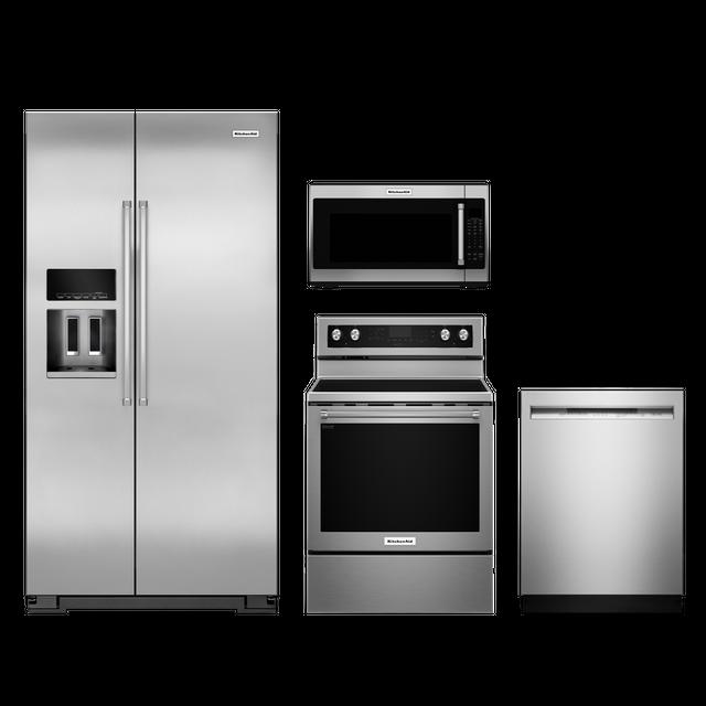 KitchenAid® 4 Piece Kitchen Package-Stainless Steel-KIKITKRSC503ESS