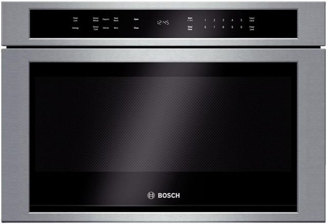 Bosch 800 Series Drawer Microwave Stainless Steel