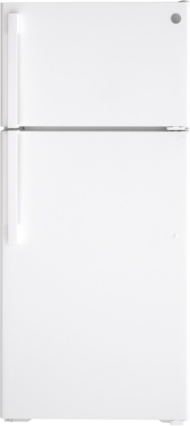 Ge 174 16 63 Cu Ft White Top Freezer Refrigerator