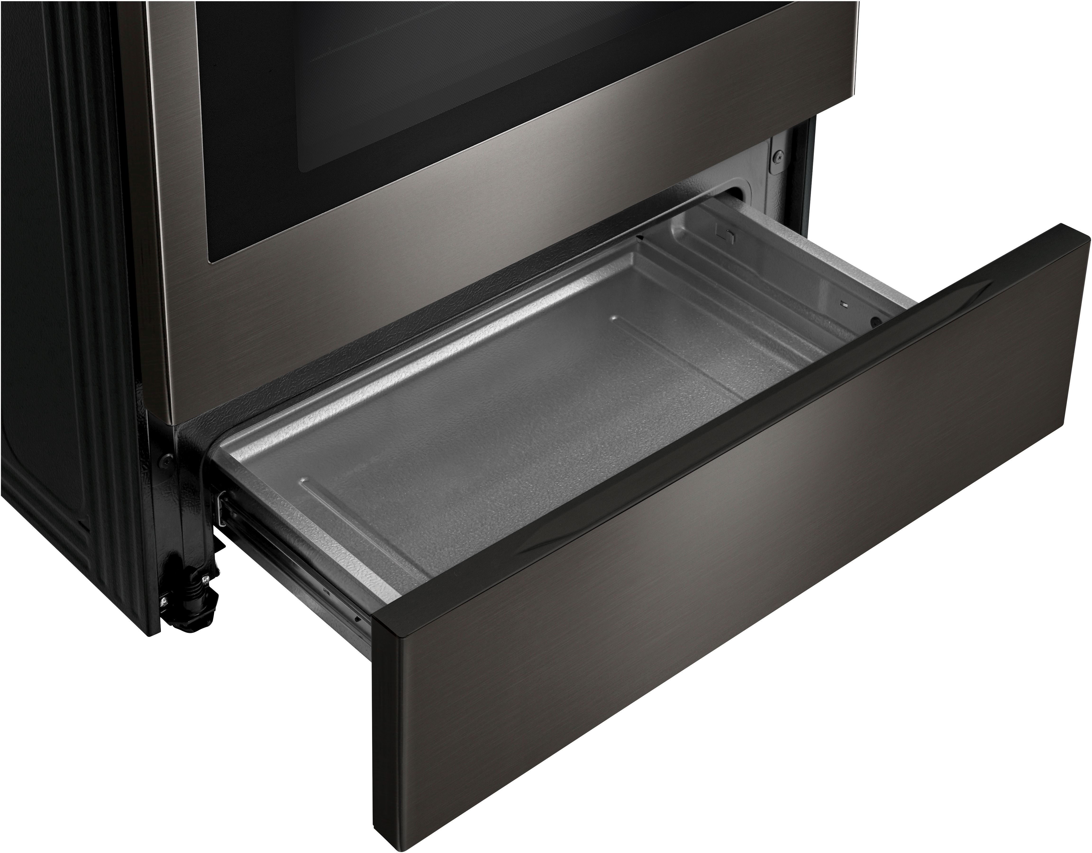 """LG 29 88"""" Black Stainless Steel Free Standing Electric"""