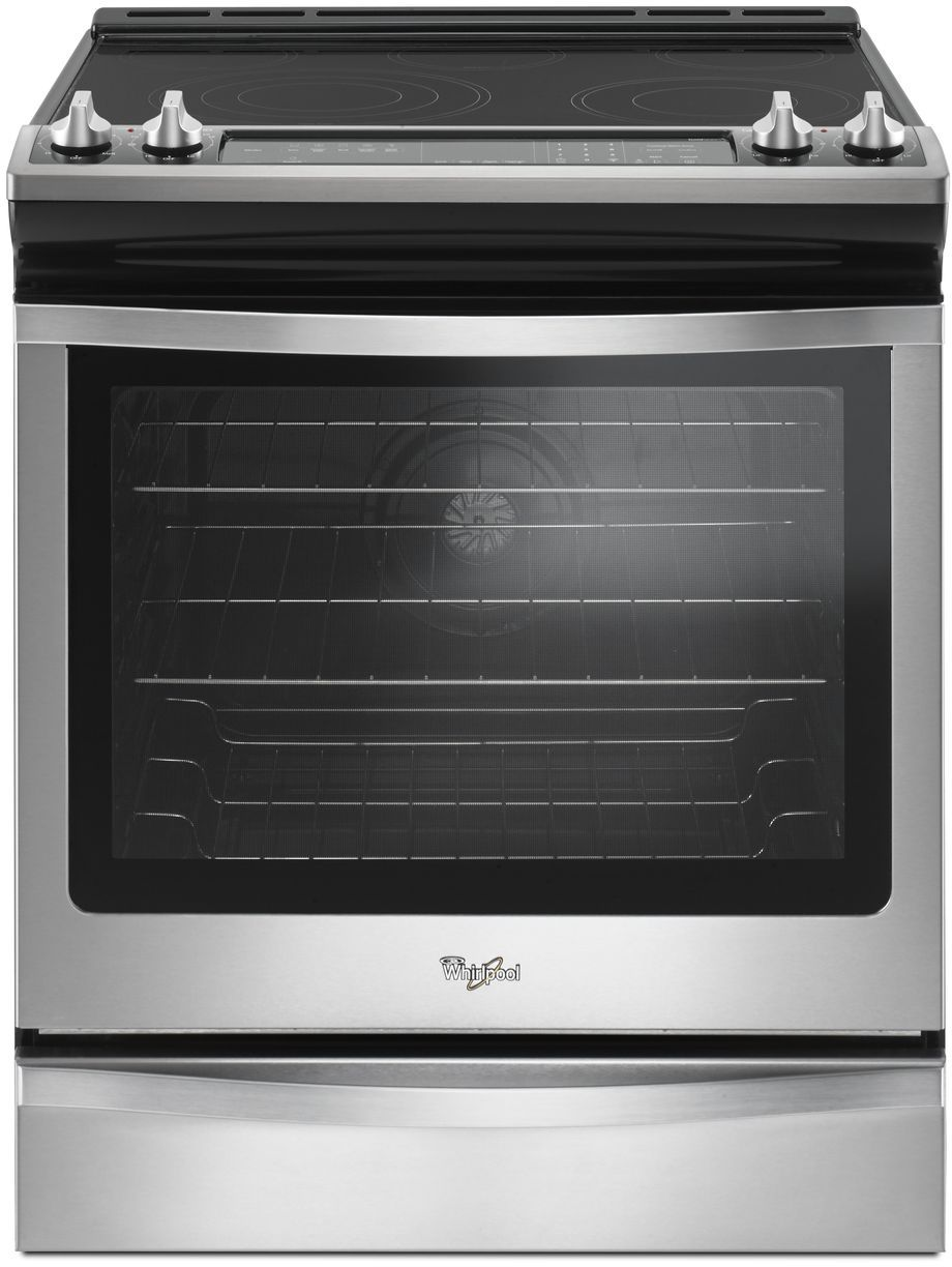 Whirlpool 30 Slide In Electric Range Stainless Steel Wee745h0fs
