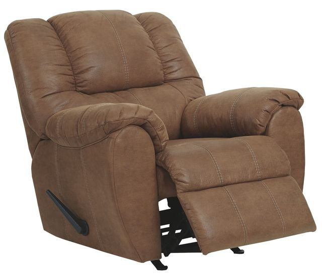 Ashley Furniture Toledo: Signature Design By Ashley® Saddle Walnut Rocker Recliner